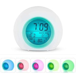 Awakelion Wake Up Light Clock Premium Digital Display Model