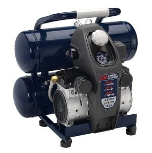 Campbell Hausfeld 4.6 Gallon Extra Quiet Air Compressor