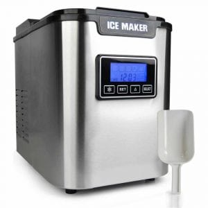 NutriChef Upgraded Portable Digital Ice Makers