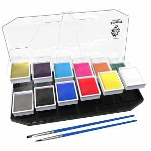 Top 10 best face painting kits in 2018 toptenreviewpro artiparty face body paint kit sciox Gallery