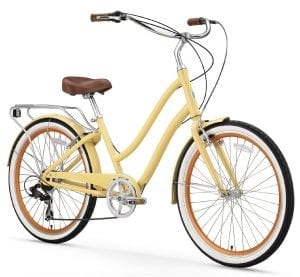 Sixthreezero 26-Inch Women's 7-Speed Hybrid Cruiser Bike