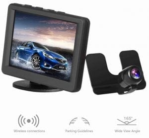 AUTO-VOX Car Wireless Rear View Camera Monitor Kit