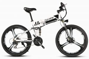 Cyrusher Folding Electric Bike XF700