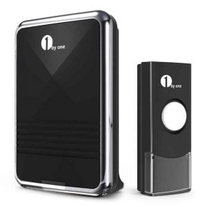 1byone Wireless Doorbell Kit, Sound and Light Flashes