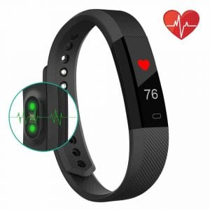 Bonebit V1 Fitness Tracker Watch with Heart Rate Monitor