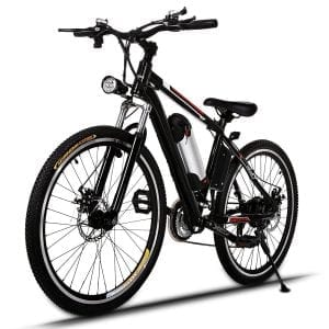 JQstar Electric Mountain Bike, Aluminum Frame