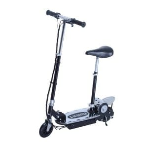 Aosom 120W Teen Folding Electric Scooter with Seat for Adults