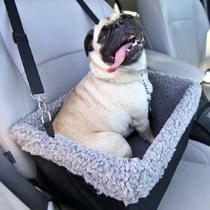 Deluxe Dog Booster Car Seat