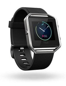 Fitbit Blaze Smart Fitbit Watch (Black, Silver)