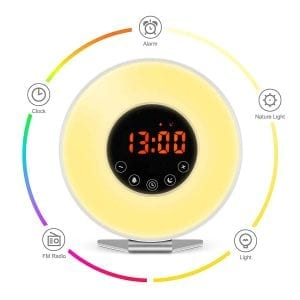 Kitchenismo Wake Up Light Alarm Clock