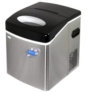 NewAir AI-215SS Stainless-Steel Portable Ice-Maker
