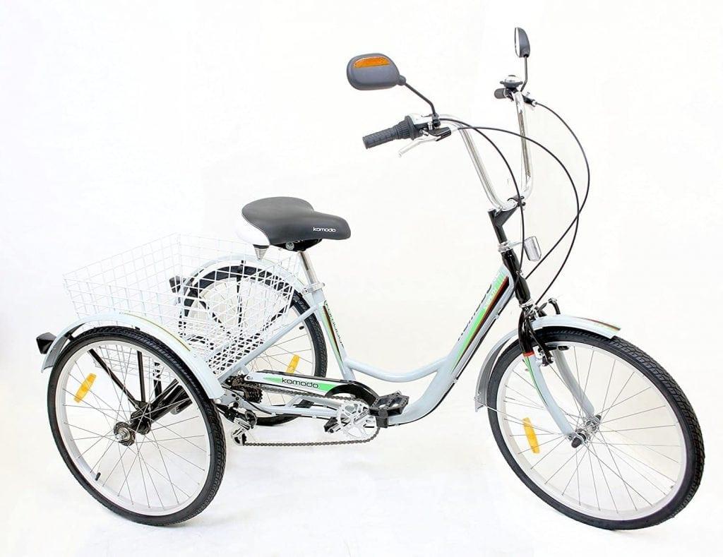 Komodo 7004 Cycling ATSTEALTH 6-Speed Tricycle