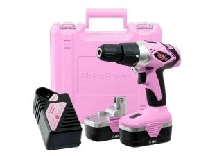 Pink Power PP182 18V Women Cordless Drills