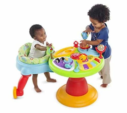 Bright Starts Around We Go 3-in-1 Activity Center Zippity Zoo