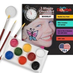 Face Painting Kit and Book