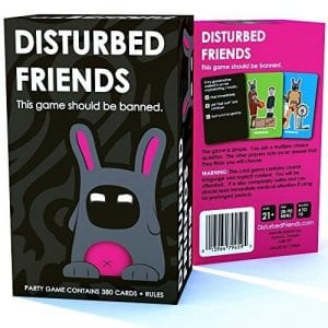 Friendly Rabbit Disturbed Friends Adult Party Games