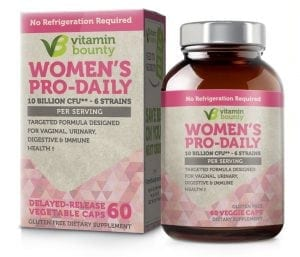 Vitamin Bounty – Women's Pro Daily Probiotic