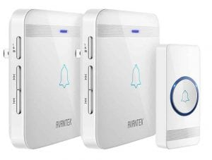 AVANTEK Wireless Doorbell Waterproof Chime Kit, 1300 feet Range