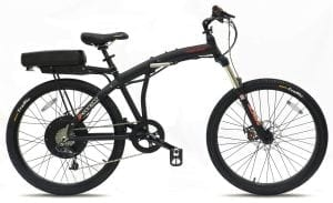 Prodeco V5 Phantom Folding Electric Bicycle X2 8 Speed