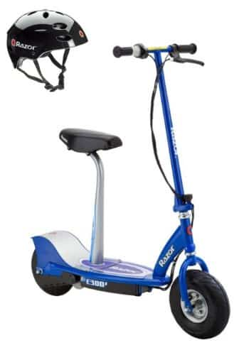 Razor E300S Seated Electric Motorized Scooter