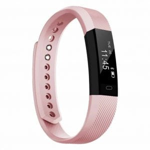 TopBest ID115 Fitness Tracker Smart Bracelet Self-Timer Smart Watch