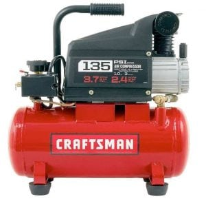 Craftsman 3-Gallon 135-Psi Oiled Portable Air Compressor