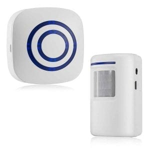 HappyCell Wireless Doorbell with PIR Motion Sensor
