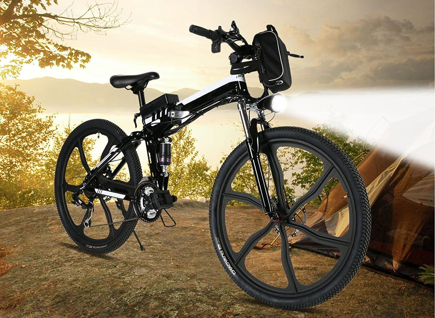 top 10 best electric mountain bikes in 2018 electric. Black Bedroom Furniture Sets. Home Design Ideas