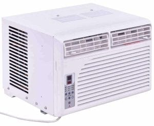 Costway Cold Air Conditioner Window-Mounted Compact