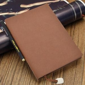 izBUY Classic Vintage Leather Journal Notebook