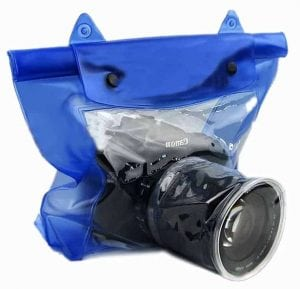 Luniquz SLR DSLR Waterproof Camera Cover for Sony Canon & Nikon