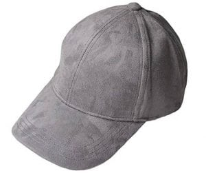 VANCOL Soft Faux Leather Suede Cap