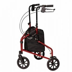 3-Wheel Aluminum Walker
