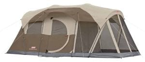 Coleman WeatherMaster 6-Person Screened Tent