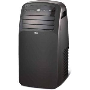 LG 12,000 BTU LCD 115V Portable Air Conditioner with Remote Control