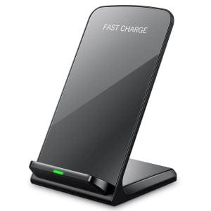 Seneo Wireless Charger, QI Wireless Charger Stand Pad Fast Charge