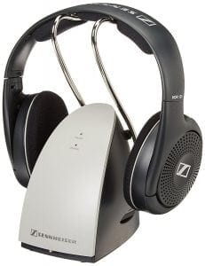 Sennheiser On-Ear Wireless RF Headphones with Charging Dock