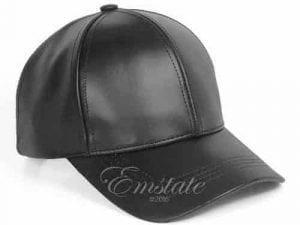 Emstate Genuine Cowhide Baseball Leather Cap
