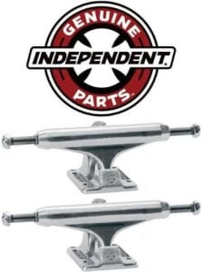 INDEPENDENT Skateboard Trucks 129mm Silver Raw STAGE 11