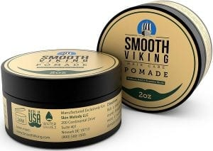 Smooth Viking Medium Hold, High Shine Men Pomade