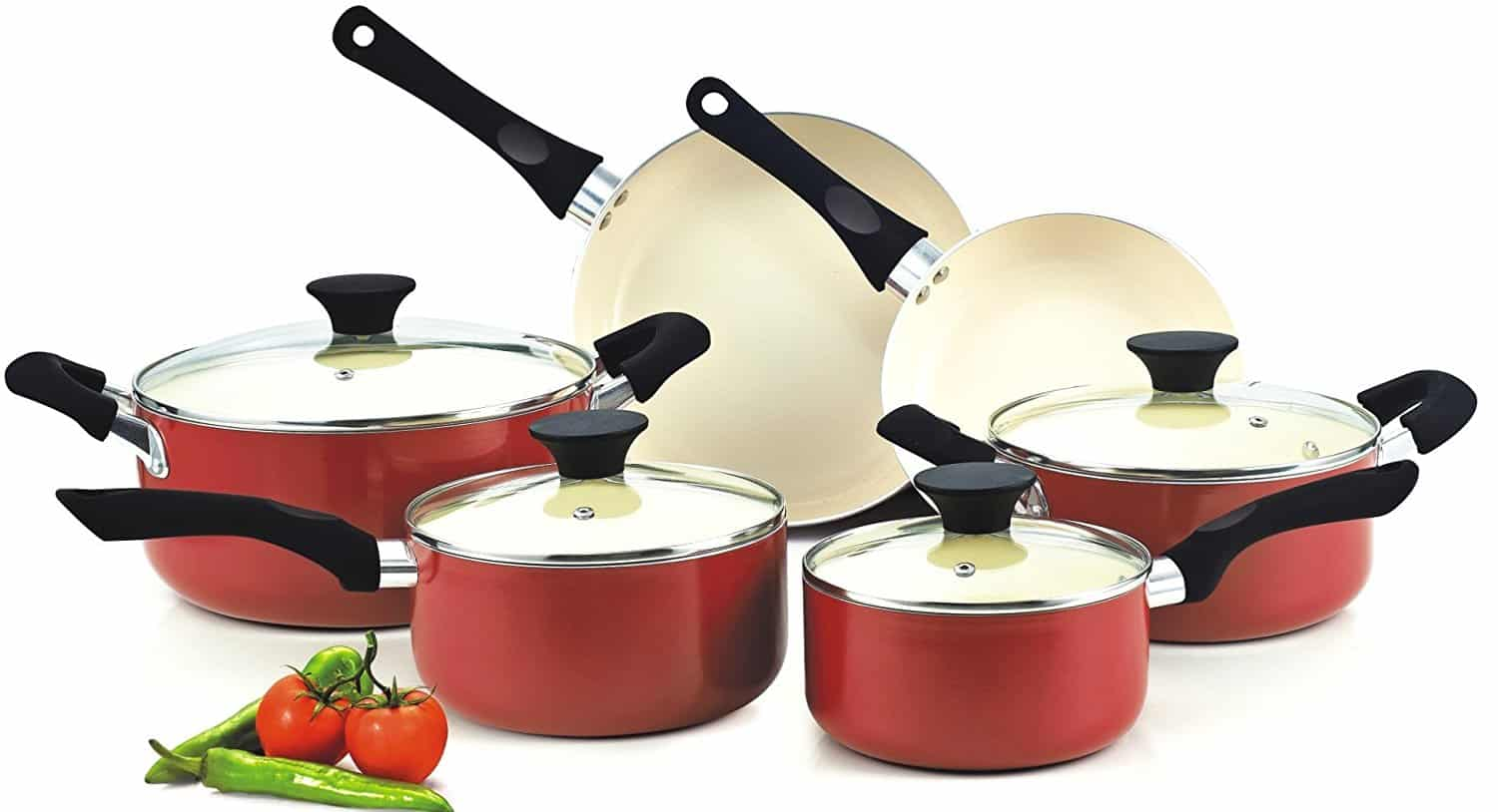 The Best Ceramic Cookware Sets In 2019 Kitchen Amp Cooking