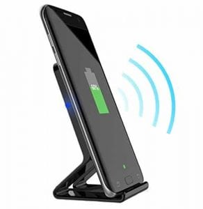 Meter.llc Qi Wireless Charger for iPhones and Android