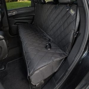 Waglii Non-Slip Waterproof Rear Bench Pet Seat Cover