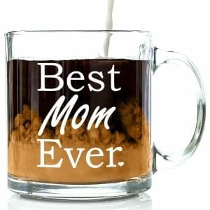 Got Me Tipsy Best Mom Ever Glass Coffee Mug