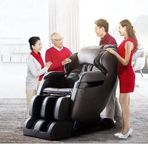 NEW FOREVER REST FR-5Ks PREMIER BACK SAVER, SHIATSU, ZERO GRAVITY MASSAGE CHAIR