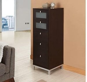 Wooden Drawer Unit Home Office Storage Cabinet