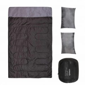 OtdAir Double Sleeping Bag with Pillows/2 Person