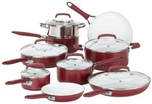 WearEver C943SF Pure Living Nonstick Ceramic Coating Cookware Set