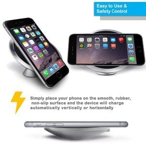 MOON Smart Tech Qi iPhone Wireless Charger Set