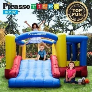 PicassoTiles Inflatable Bouncer Jumping Bouncing House